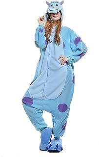 NEWCOSPLAY Adult Sullivan Unisex Pyjamas Halloween Onesie Costume