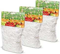 EACHON Heavy-Duty Plant Trellis Netting Polyester Trellis for Climbing Plant Growing Flexible String Net 5 x 15ft 3 Pack
