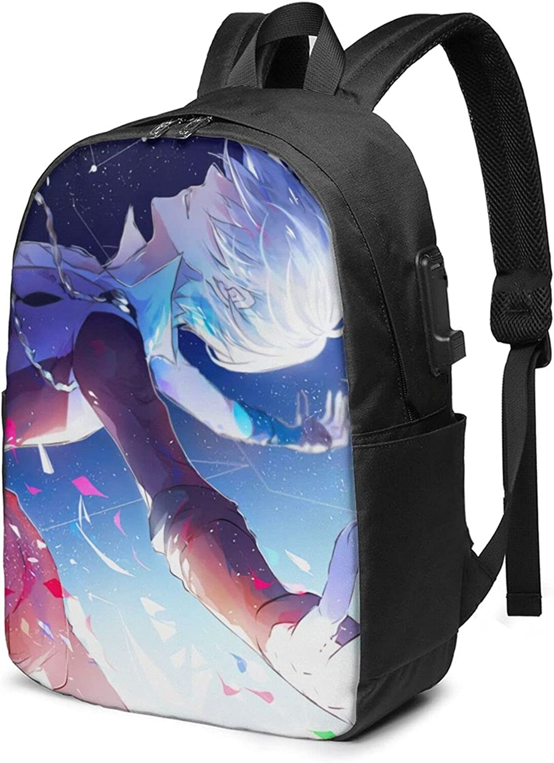 Yuri On trust Year-end annual account Ice Backpack Travel With Po Usb Laptop Charging