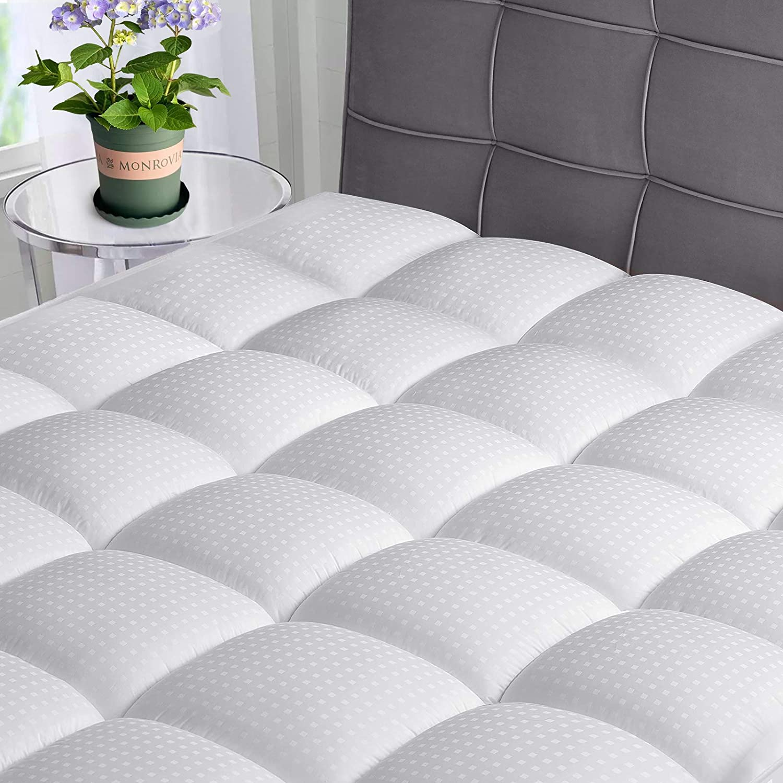 ASHOMELI Queen In stock Mattress Topper Cooling w Pad Top Popular brand Pillow