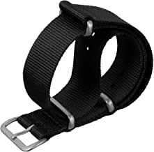 ZULUDIVER G10 Nylon Watch Band in a Choice of Colors, Sizes and Buckle Finishes