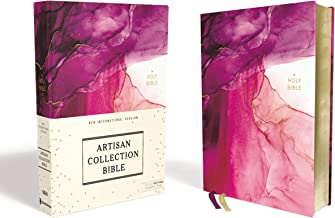 Download Book NIV, Artisan Collection Bible, Cloth over Board, Pink, Art Gilded Edges, Red Letter, Comfort Print PDF