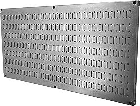 Wall Control Pegboard 16in x 32in Horizontal Galvanized Metal Pegboard Tool Board Panel