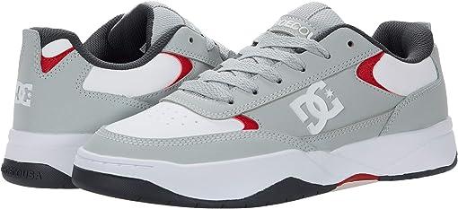 Grey/Red/White
