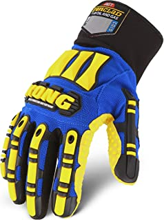 IRONCLAD SDXW2-04-L Cold Protection Gloves, Wing Thumb, L, PR