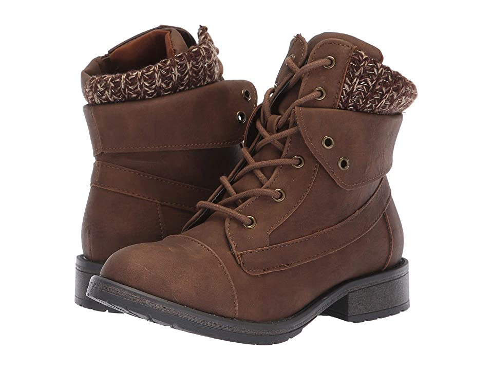 Steve Madden Kids Jjacks (Little Kid/Big Kid) (Brown) Girls Shoes