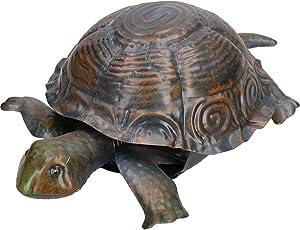 Tortuga Tortuga Jardin Escultura Estatua Ornamento Decoracion Metalica Animal