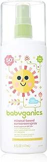 Babyganics Mineral Based Sunscreen Spray - SPF 50+ - Fragrance Free - 6.0 oz