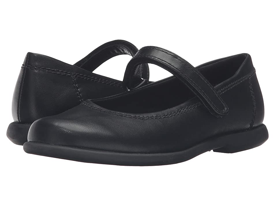 Rachel Kids Lindsey (Little Kid/Big Kid) (Black Smooth) Girls Shoes