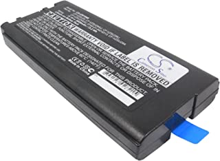 CS Replaceable battery for Panasonic Notebook, Laptop ToughBook CF29, ToughBook CF-29, ToughBook CF-29A, ToughBook CF-29E, ToughBook CF-29JC1AXS, ToughBook CF-29JC9AXS, ToughBook CF-29LW1AXS, ToughBoo