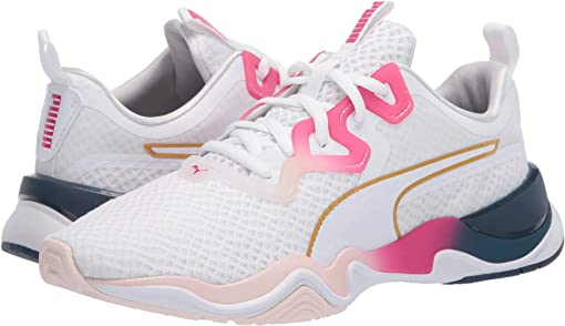 Puma White/Bright Rose/Rosewater