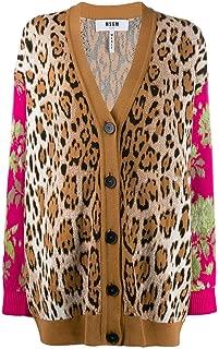 MSGM Luxury Fashion Womens 2741MDM15219576525 Multicolor Cardigan | Fall Winter 19