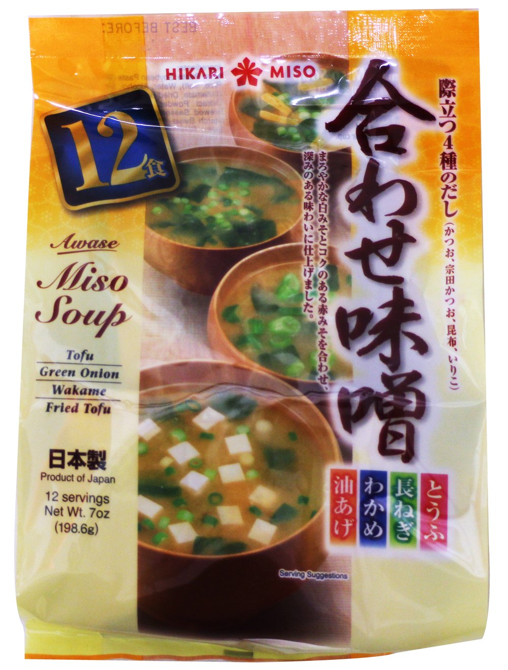 Hikari Miso Ranking TOP3 Instant Awase Dealing full price reduction 7 Variety Soup Ounce
