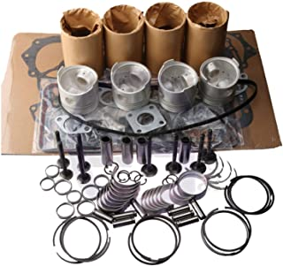 zt truck parts Rebuild Kit for Kubota V1902-DI Engine L3250DT L3250F L3350HDT L3450DT L3450F