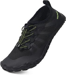 Weweya أحذية مياه للرجال والنساء أحذية رياضية بسيطة للشاطئ لركوب القوارب والصيد والسباحة
