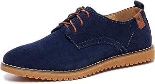 DADAWEN Oxford zapatos de piel Para Hombre