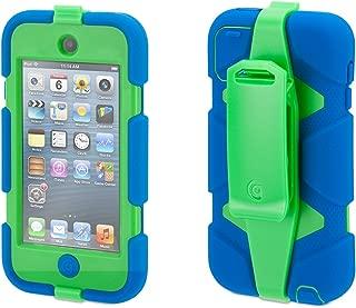 Griffin Blue/Green Survivor Case + Belt Clip for iPod Touch (5th/ 6th gen.) - Extreme-Duty case