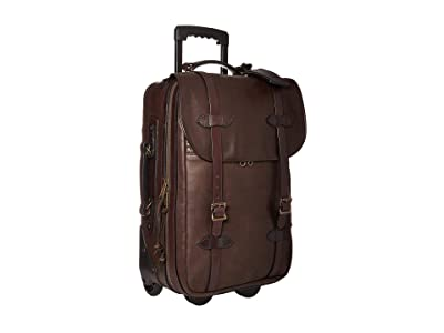 Filson Medium Weatherproof Rolling Carry-On Bag (Sierra Brown) Carry on Luggage