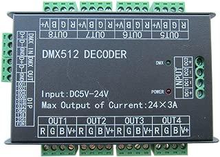 Best dmx512 decoder 3 channel Reviews