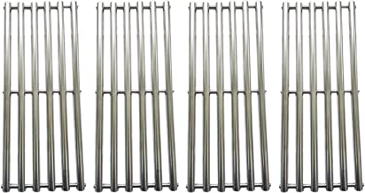 BBQration NEW Stainless Steel Cooking Grid Replacement for Gas Grill Model Charbroil 463250910, Set of 4
