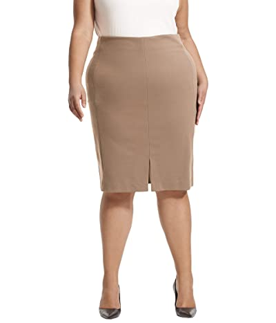 M.M.LaFleur Plus Size Greenpoint Skirt (Russet) Women