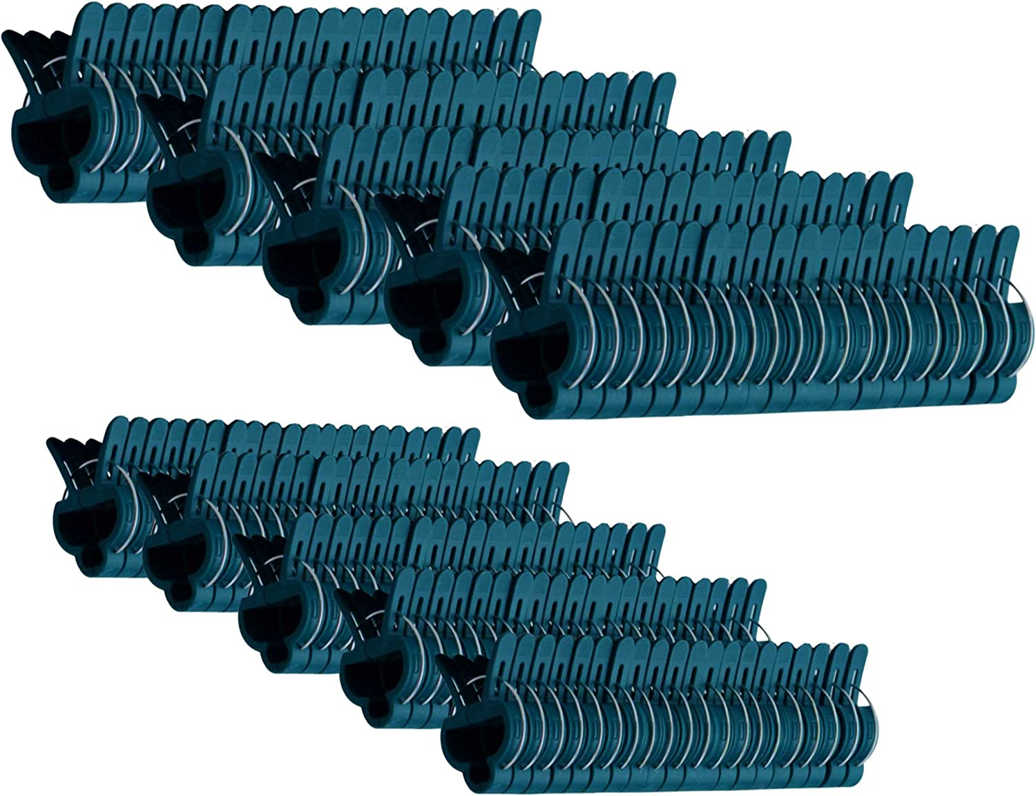 RayLynn Products 100 Piece Garden Plant and Vine Support Clips, (Pack of 100 Large)