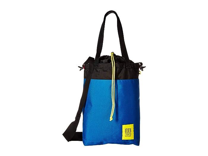BLAK TEE USA New York City Skyline Organic Cotton Reusable Shopping Bag Nero