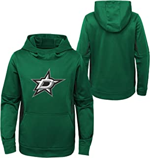 OuterStuff Youth NHL Dallas Stars Performance Hoodie Youth Sizing (Youth S (6/8))