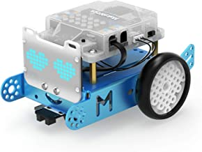 Makeblock mBot S Explorer Metal DIY Robot Kit, Interactive Coding Robot with LED Eyes, APP Remote Control, Learn Scratch a...