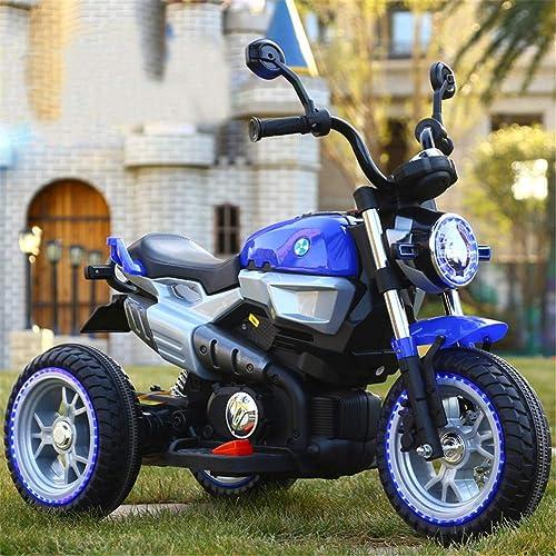 varios tamaños Niños Motocicleta EléCtrica con Luz Luz Luz LED MúSica Motocross 6v BateríA Infantil Moto  respuestas rápidas
