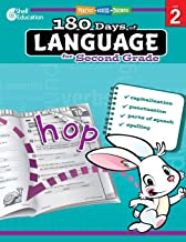 180 Days of Language for Second Grade – Build Grammar Skills and Boost Reading Comprehension Skills with this 2nd Grade Wo...