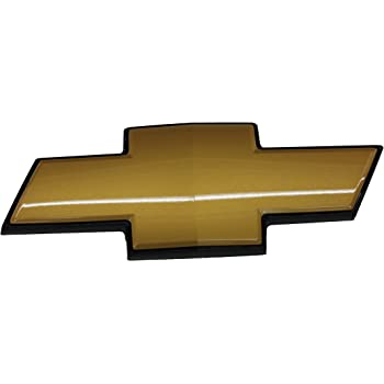 Guzetop Gold Front Grille Emblem for Chevy Tahoe Suburban Avalanche 2007-2014