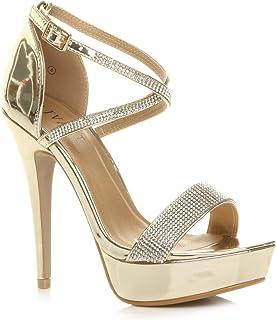 a820d82858 Amazon.it: Oro - Scarpe col tacco / Scarpe da donna: Scarpe e borse