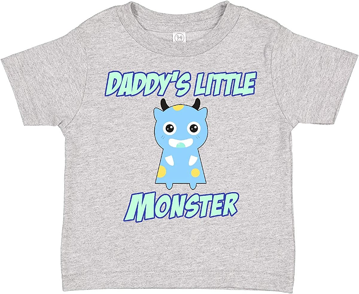 inktastic Daddys Little Monster Toddler T-Shirt