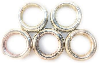 steel rappel ring