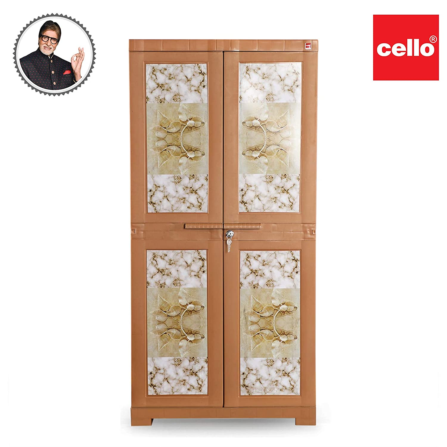 Cello Novelty Big Plus Storage Cabinet  Wood  Cabinets   Cupboards