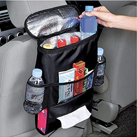 $20 » Fanxis Car Seat Organizer Ice Box Thermal Preservation Bag, Cooler Boot Auto Hook Storage Rear Seat Travel Accessories Box