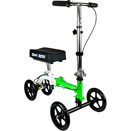 KneeRover GO Knee Scooter - The Most Compact & Portable Knee Walker Crutches Alternative