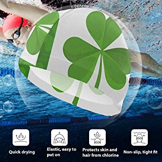 shamrock swim cap