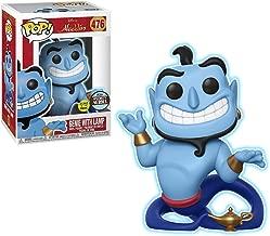 Funko Genie w/ Lamp [Glow-in-Dark] (Specialty Series): Aladdin x POP! Disney Vinyl Figure & 1 POP! Compatible PET Plastic Graphical Protector Bundle [#476 / 35759 - B]
