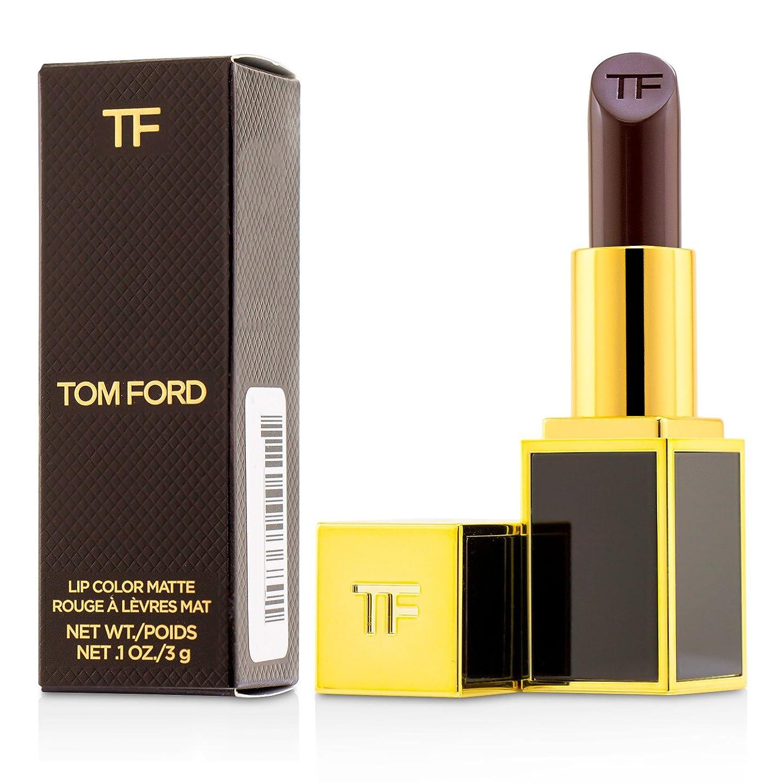 無駄に満州素晴らしいトム フォード Lip Color Matte - # 10 Black Dahlia 3g/0.1oz並行輸入品