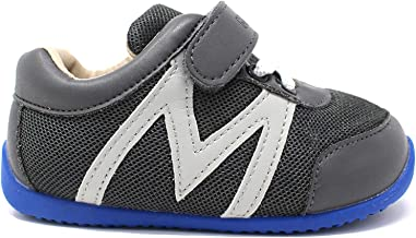 Momo Baby Boys First Walker Toddler Hunter Leather Sneaker Shoes