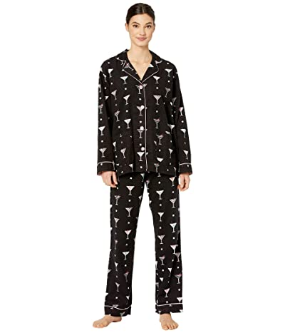 P.J. Salvage Happy Hour PJ Set (Black) Women