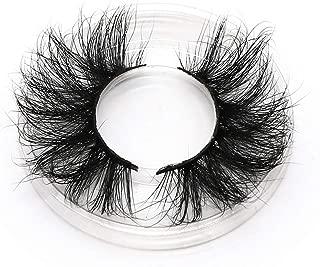 25mm Long Natural False Eyelashes Thick Faux Mink Lashes Eyelash Extension Supplies,X61(25mm)