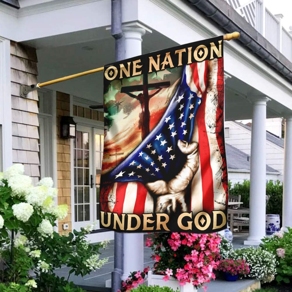 FLAGWIX Flags-One Nation Under God Max 71% OFF 29 Flag House Ranking TOP16 DBX1988F