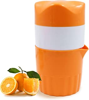 Exprimidor de limón, exprimidor de mano portátil, exprimidor de cítricos, exprimidor manual para limones y cítricos (color...