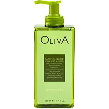 Oliva Phytorelax Sapone Liquido Mani Viso Corpo 250 ml