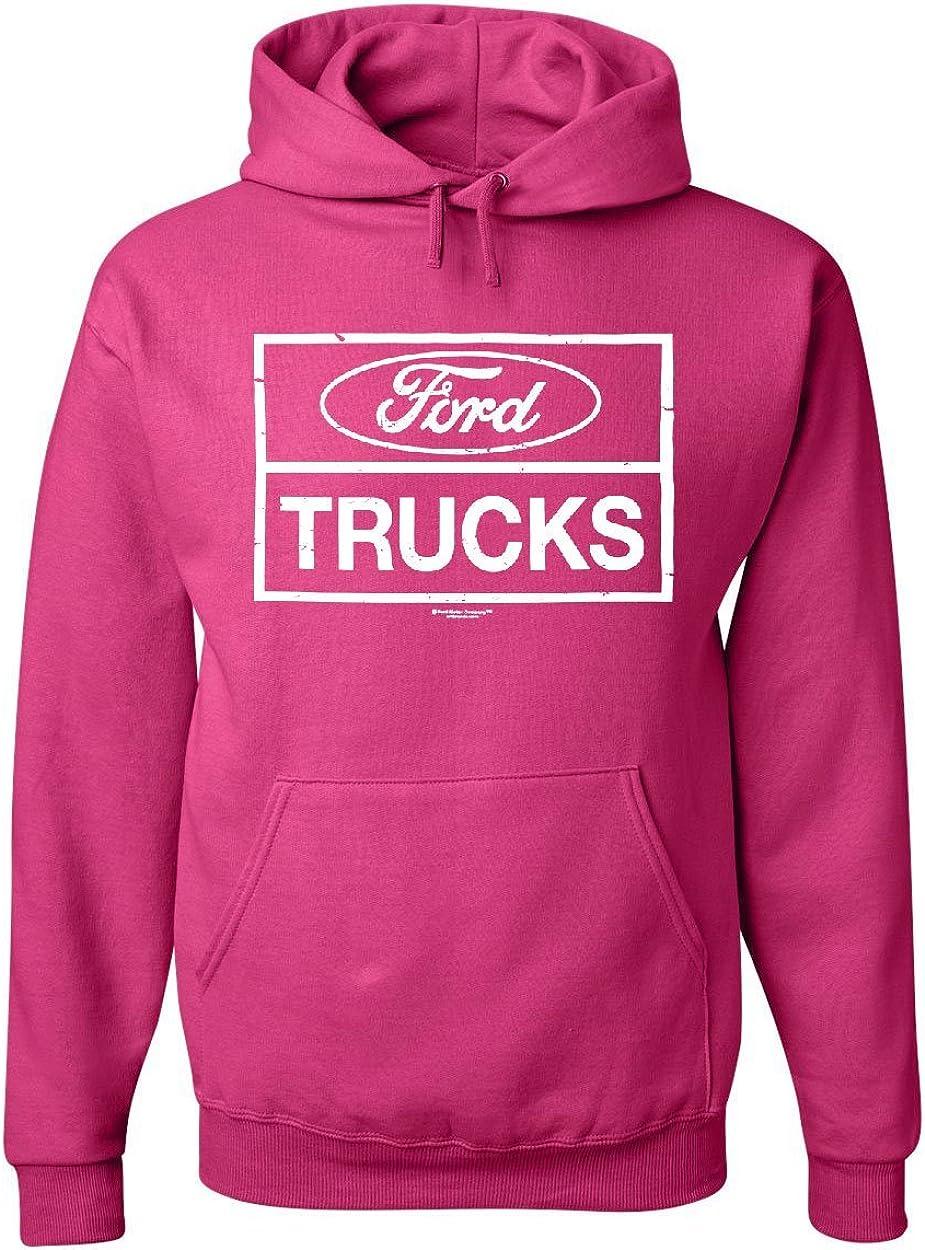 Distressed Ford Trucks Hoodie F150 American Pick Up Sweatshirt
