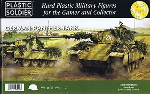15mm WW2 Gerhomme Panther Ausf D, A and G Tank