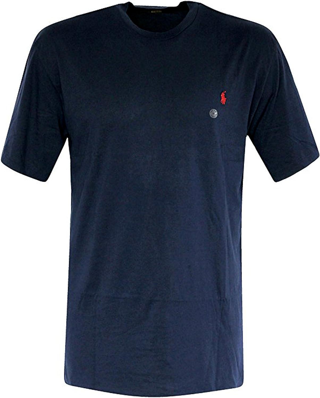 Polo Ralph Lauren Men's Big & Tall Crew Neck T-shirt TOP SHIRT INK (XLT)